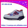 2011 new auto-button 1 wheel cartoon spider-man heelys skate shoes