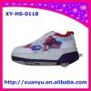 2011 new auto-button 1 wheel cartoon spider-man heelys skate shoes