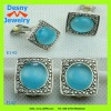 hot sale latest 2013 fashion jewelry design sapphire gemstone clip on earrings