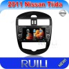 HD touch screen New Nissan Tiida car dvd radio with GPS/NAVIGATION