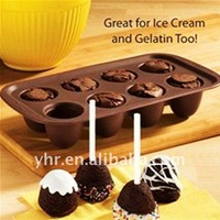 8-cups Silicone Shape Muffin jelly cake baking mould