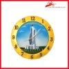 decorative souvenir wall clock