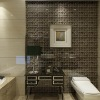 glass mosaic wall tile, bathroom glass mosaic tile 4mm/8mm