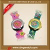 Cheap Cartoon Quartz Kids Rubber Watches Silicone With Colorful