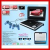 PORTABLE DVD Player TV MP5 RMVB USB Games