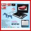 PORTABLE DVD Player TV MP5 RMVB USB Games