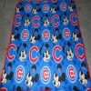 2012 cheap polyester polar fleece soft touch baby blankets