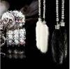 Garson DAD Luxury Mink Crystal Chain,car ornaments