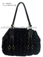 latest style fashion handbags(with fur )