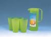 plastic pitcher set