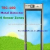 LCD Walk Through Metal Detector&Security Door TEC-100