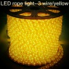 LED rope light(holiday lighting) ---flat 3wire 72leds/m 220V/110V/24V/12V