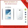 Re-n9330 mtk6577 dual camera 0.3MP+8.0MP android4.0 smartphone