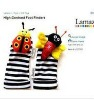 Free Shipping 20pcs 4 desigen mix 10hand+10 Footwear orrignal brand Lamaze Wrist Rattles,Toddler Infant Plush toys