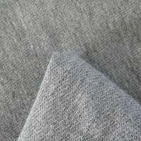 100%Cotton Casual Graymarl Knitted Fabric