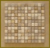Mix Travertine Mosaic 1x1