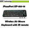 iPazzPort Fly Air Mouse Keyboard For Google Android TV Player Mini Wireless Keyboard KP-810-16