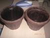 wood plastic composite flowerpot