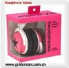 Mix-Style Star Stereo Headphone for MP4 MP3 DVD Player