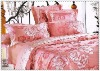 7 pcs luxury comforter set bedding set