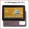 4.3 inch Car GPS Navigation Portable GPS Navigator GP20