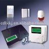 LCD display GSM alarm system