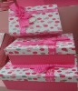 Valentine paper craft box