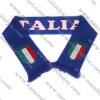 fan scarf/acrylic scarf/soccer scarf/Italy scarf/football scarf