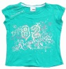 Girl's summer Tshirt   10169#jade green
