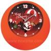 Plastic wall clock, promotion clocks, customized clocks www.noxtime.com