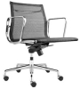 002-00008-022  Eames office chair (mesh, thin pad, low back)