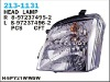 AUTO  FRONT LAMPS FOR ISUZU D-MAX ,FOR ISUZU ,TOYOTA,NISSAN,MITSUBISHI,HINO SERIES WITH BEST QUALITY AND GOOD PRICE