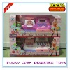 FUNNY BATTERY OPERATED CASH REGISTER TOYS SET WITH MUSIC