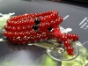Fashion jewelry natural red agate bracelet crystal beaded bracelet 108 beads