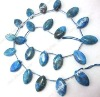"15"" 11*18mm natural blue jade loose strand"
