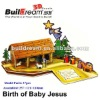3D Puzzle Bible Story-The Birth of Baby Jesus
