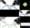 2012 New arrival EL lighted usb data line dexim charger for iPad / iPhone / iPod