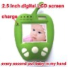 "Green Apple style 2.4Ghz wireless 2.5"" TFT cheap baby monitor"