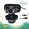 12M pixel free driver usb digital webcam