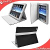 Hot sell leather waterproof shockproof case for the new ipad 3