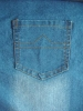 """YUMEI Cotton Polyester Denim Fabric 75% cotton 25% polyester 10oz 61""""/62"""",hot sell in US market(YM0711128)"""