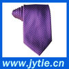 Man's Purple Color White Dot Neckties