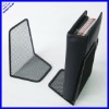 sturdy wire black metal mesh bookends (book holder)