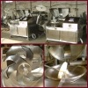 06 HRSD 304 stainless steel 125L bowl chopper with 6 cutting knife assembly