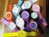 2012 Newest fashion silicone square sports jelly watch