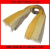 2012 New Design Graduated color 100% Viscose -Modal Summer Trends Scarf