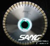 diamond cutting blade for stone and concrete