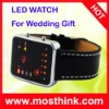 pu strap silicon led watch 2012