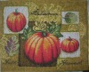 pumpkin tapestry placemat