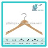 Coat wooden hanger